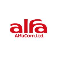 アルファコム株式会社 ロゴ